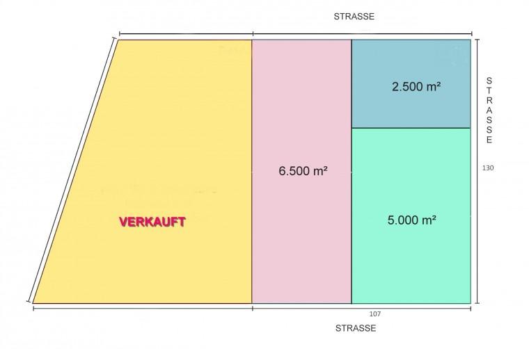 SELTENHEIT - Betriebsbaugrund 2.500 m² - 1220 Wien Bereich Großenzersdorfer Straße (Objekt Nr. 050/01765)