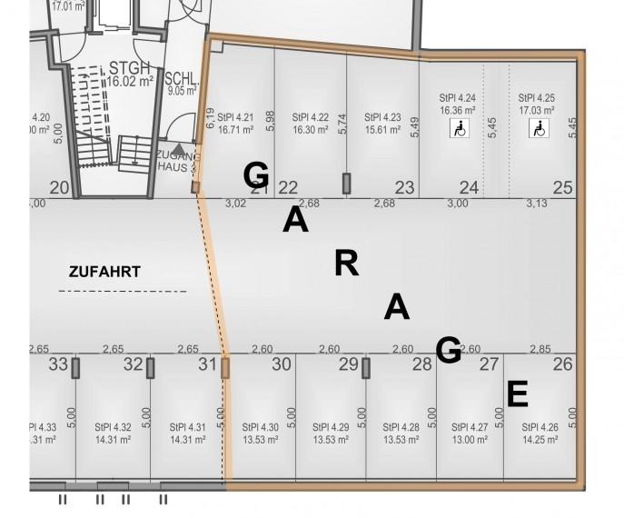 KAUF - IDEAL FÜR OLDTIMERFREUNDE - 235 m² GROßGARAGE MIT 10 STELLPLÄTZEN, Bereich Schwechat (Objekt Nr. 050/01858)
